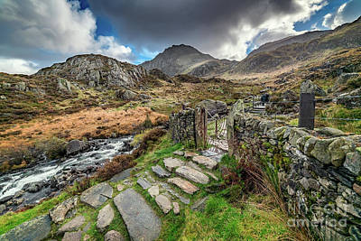 Photograph - Gate To Snowdonia by Adrian Evans