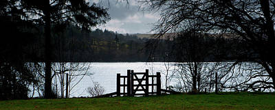 Photograph - Gate To The Lake by Helen Northcott
