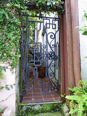 Photograph - Gate To The Secret Garden by D Hackett