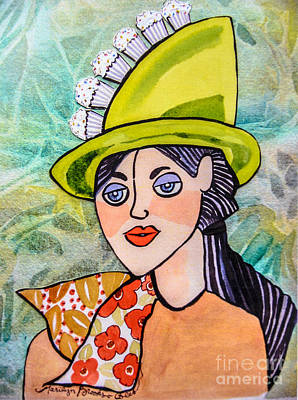 Painting - Gateau Chapeau by Marilyn Brooks