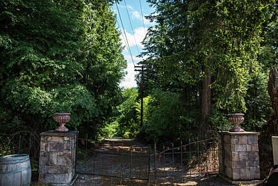 Photograph - Gated Lane by Tom Cochran