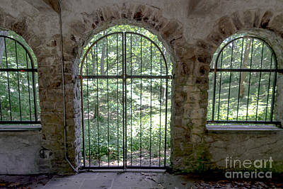 Photograph - Gated Yard by William Norton
