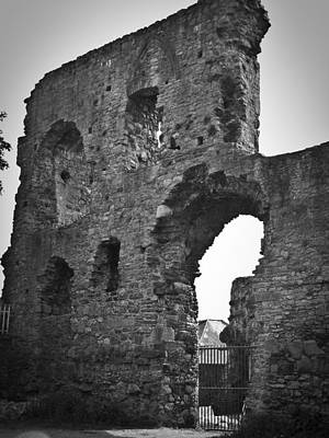 Gatehouse Photograph - Gatehouse At Nenagh Castle Ireland by Teresa Mucha