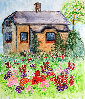 Painting - Gatekeeper's Cottage by Patricia Beebe