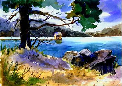 Painting - Gatekeeper's Tahoe by Joan Chlarson