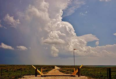 Photograph - Gates Of Hail by Ed Sweeney