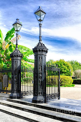 Photograph - Gates Of Jackson Square - Nola by Kathleen K Parker