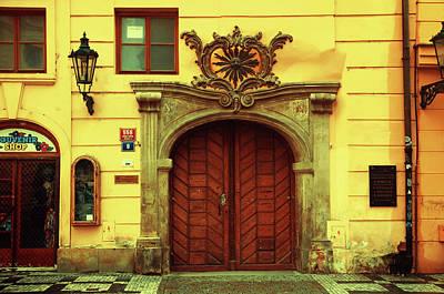 Photograph - Gates Of Sun. Series Golden Prague by Jenny Rainbow
