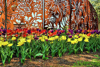 Photograph - Gates Of The Floral Palace by Mike Smale