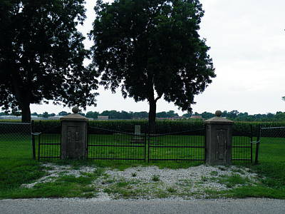 Photograph - Gates Of Youth Cemetery by The GYPSY