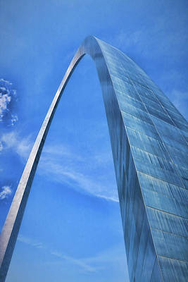 Photograph - Gateway Arch # 7 by Allen Beatty