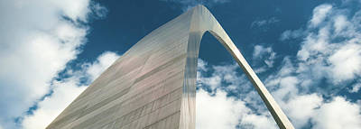 Photograph - Gateway Arch Panorama - Saint Louis Missouri by Gregory Ballos