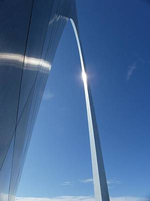 Photograph - Gateway Arch by Peggy King