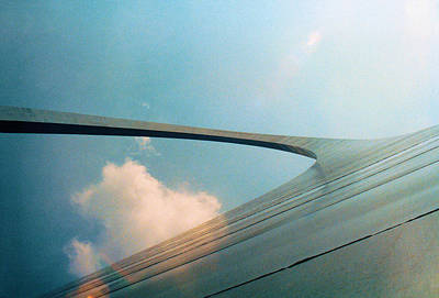 Photograph - Gateway Arch St Louis by Jan Amiss Photography