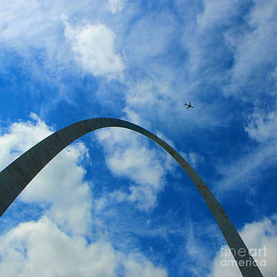 Photograph - Gateway Arch St. Louis by Jenny Revitz Soper