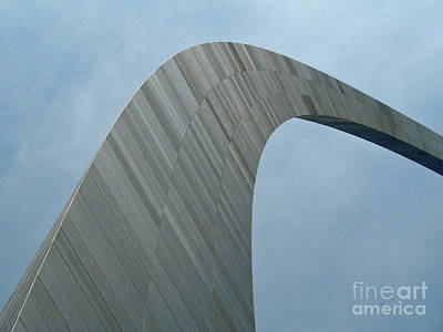 Photograph - Gateway Arch by Tony Baca