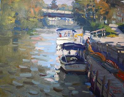 Gateway Harbor In Tonawanda Art Print