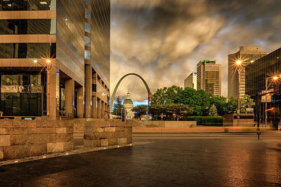 Photograph - Gateway Mall And Arch St Louis Mo_dsc4534_16 by Greg Kluempers