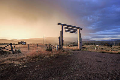 Willison Photograph - Teton Gateway Of Light And Dark by Purple Moss Photography