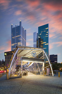 Photograph - Gateway Station At Pittsburgh  by Emmanuel Panagiotakis