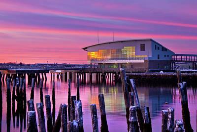 Photograph - Portland Ocean Gateway Terminal by Ed Fletcher