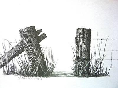 Gateway To Beyond Art Print by Diane Palmer