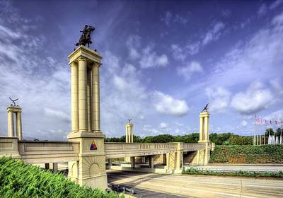Columbus Drive Photograph - Gateway To Fort Benning by JC Findley