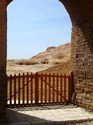Photograph - Gateway To Monthemhat Tomb by Debbie Oppermann