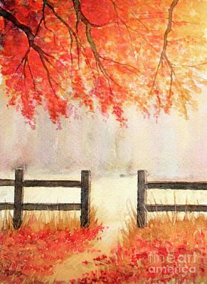 Painting - Gateway To Sunlight by Rebecca Davis