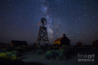 Astro Photograph - Gateway To The Past by Betty Doran
