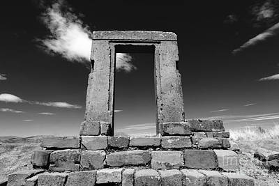 La Luna Photograph - Gateway To The Past by James Brunker