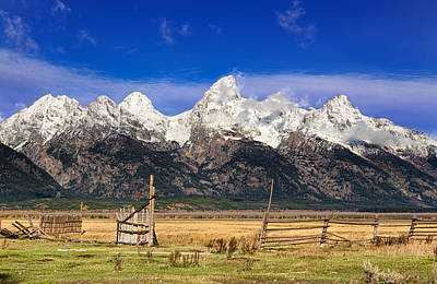 Photograph - Gateway To The Tetons by Kathleen Bishop