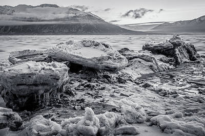Soap Suds - Gathering Bergs by Tim Newton