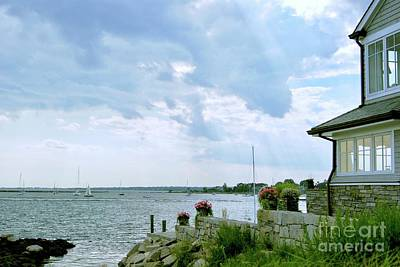 Photograph - Gathering Clouds  by Margie Avellino