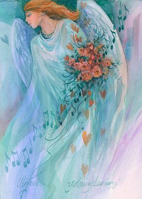 Painting - Gathering Loveliness by Carolyn Utigard Thomas