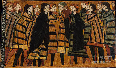 1295 Painting - Gathering Saints by Celestial Images