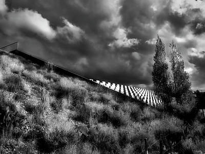 Photograph - Gathering Storm by Mark David Gerson