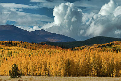Photograph - Gathering Storm - Park County Co by Dana Sohr