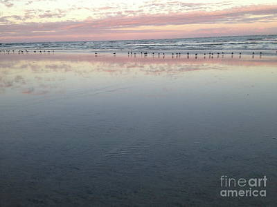 Photograph - Gathering Tide by Mark Messenger