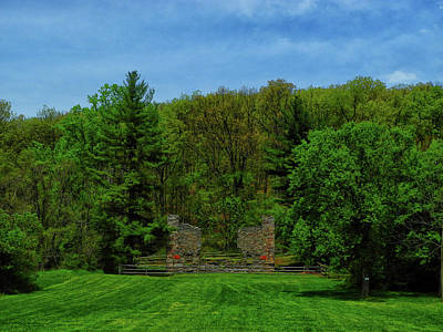 Photograph - Gathland State Park In Maryland Ruins by Raymond Salani III