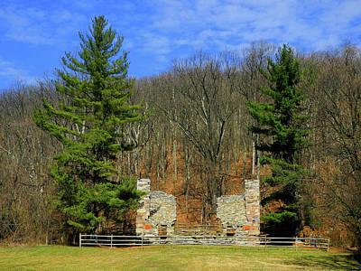 Photograph - Gathland State Park Ruins by Raymond Salani III