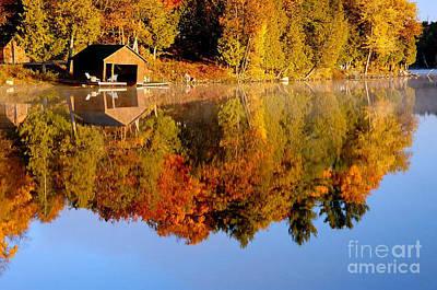 Gatineau Park Taylor Lake Art Print by Rod Jellison