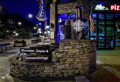 Photograph - Gatlinburg Moonshine Samples by Greg Mimbs