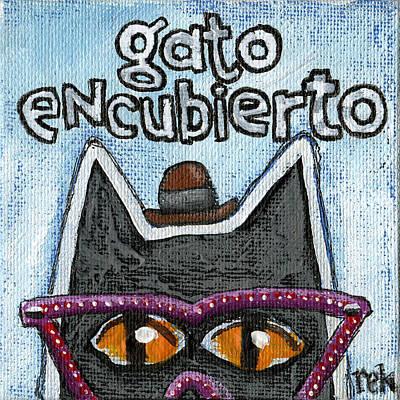 Gato Encubierto Art Print