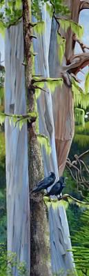 Painting - Gator Gardens, Cormorant Island  by Elissa Anthony