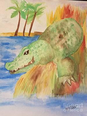 Gator Original by Maria Urso