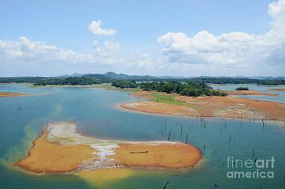 Background Photograph - Gatun Lake, Panama Canal by Dani Prints and Images