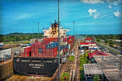 Photograph - Gatun Locks by Hanny Heim