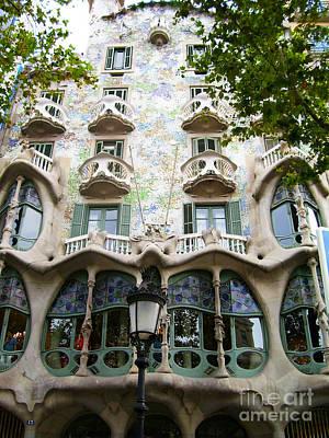Gaudi Architecture Art Print by Laura Kayon