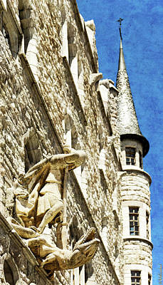 Photograph - Gaudi Casa Botines With Saint George And The Dragon by Weston Westmoreland